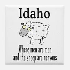 Idaho Sheep Tile Coaster
