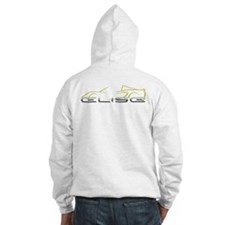 Elise Yellow Outline Front/Rear Hoodie