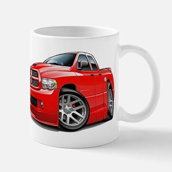 SRT10 Dual Cab Red Truck Mug