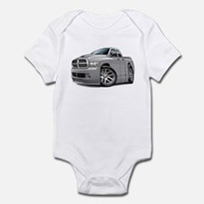 SRT10 Dual Cab Grey Truck Infant Bodysuit