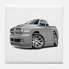 SRT10 Dual Cab Grey Truck Tile Coaster
