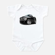 SRT10 Dual Cab Black Truck Infant Bodysuit
