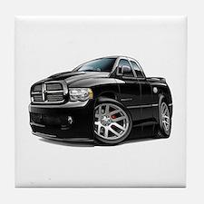SRT10 Dual Cab Black Truck Tile Coaster