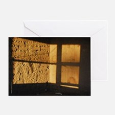 Adobe Light, Marfa Texas Card - Blank