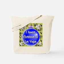 Christmas In Las Vegas Tote Bag