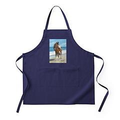Beach Pony Apron (dark)