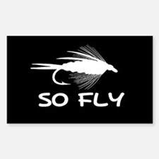 SO FLY Rectangle Sticker 10 pk)