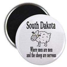 South Dakota Sheep Magnet