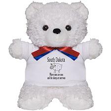 South Dakota Sheep Teddy Bear