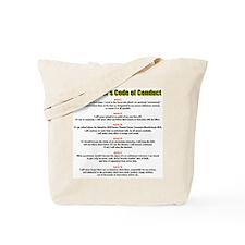 Short-Timer's Code Tote Bag