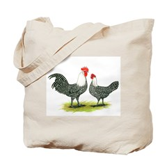 Campine Chicken Pair Tote Bag