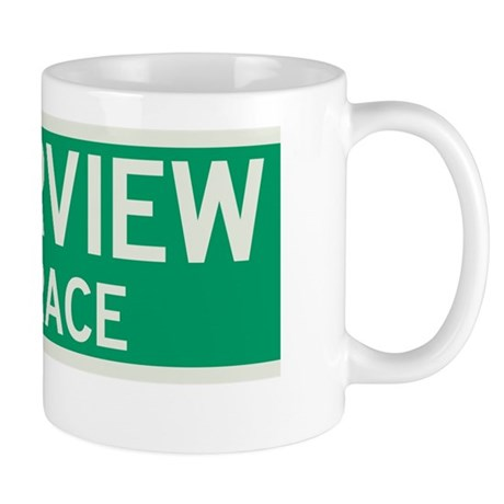 Riverview Terrace in NY Mug