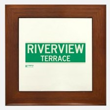 Riverview Terrace in NY Framed Tile