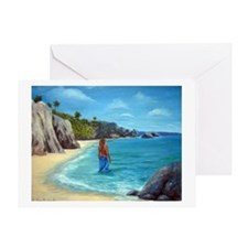 Carribean Dreaming Greeting Card
