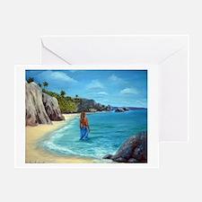 Carribean Dreaming Greeting Card