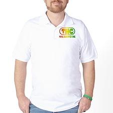THC logo - Rasta style T-Shirt