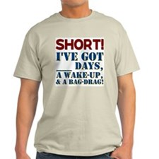 SHORT! Ash Grey T-Shirt