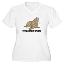 Walruses Rock T-Shirt
