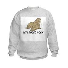 Walruses Rock Sweatshirt