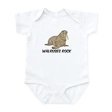 Walruses Rock Infant Bodysuit