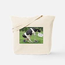 Look Ma, No Hands Tote Bag