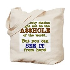 This Duty Station Tote Bag