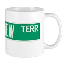 Riverview Terrace in NY Small Mugs