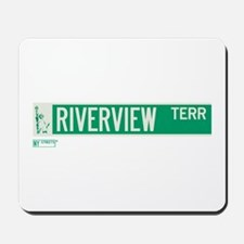 Riverview Terrace in NY Mousepad