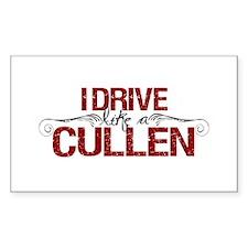 Drive Like a Cullen Rectangle Sticker 10 pk)