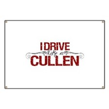 Drive Like a Cullen Banner