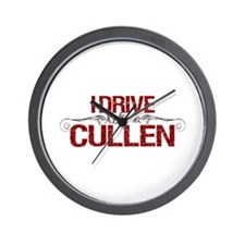 Drive Like a Cullen Wall Clock