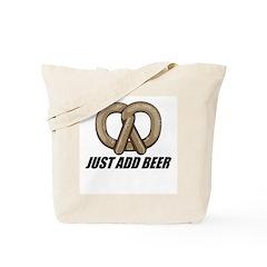 Just Add Beer Tote Bag