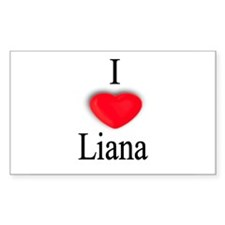 Liana Rectangle Decal