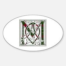 Monogram - MacGregor of Cardney Sticker (Oval)