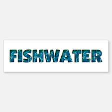 Mo' Fishwater Bumper Bumper Bumper Sticker