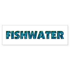 Mo' Fishwater Bumper Bumper Sticker