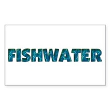 Mo' Fishwater Rectangle Decal