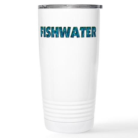 Fishwater Stainless Steel Travel Mug