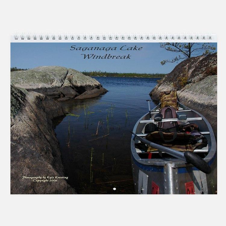Canoe Time Wall Calendar