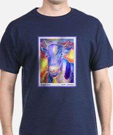 Cow! Purple cow art! T-Shirt