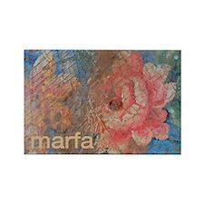 Marfa Vintage Rose Magnet