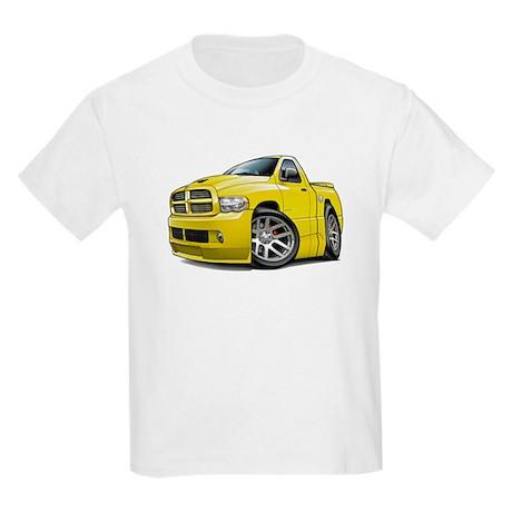 SRT10 Yellow Truck Kids Light T-Shirt