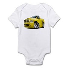 SRT10 Yellow Truck Infant Bodysuit