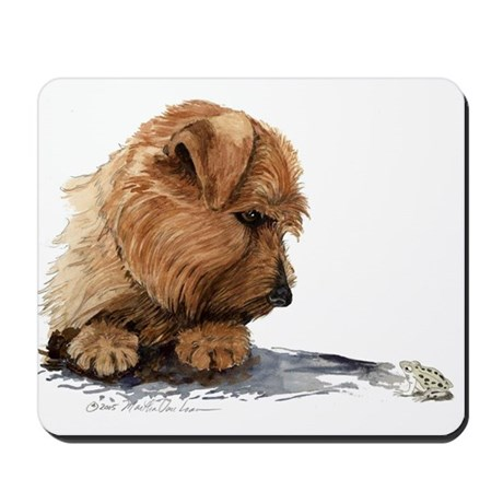 Norfolk and Frog Mousepad