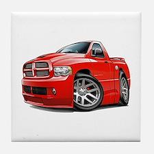 SRT10 Red Truck Tile Coaster