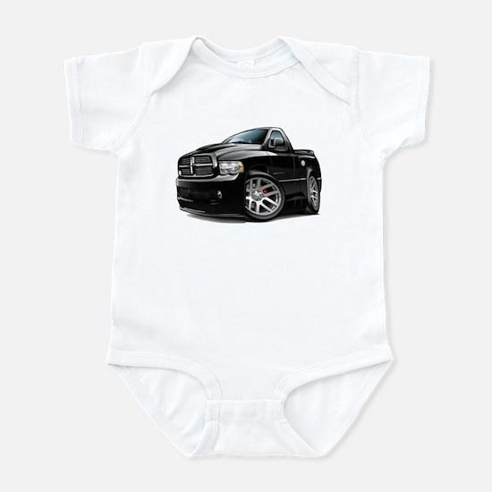 SRT10 Black Truck Infant Bodysuit
