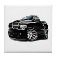 SRT10 Black Truck Tile Coaster