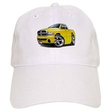 Dodge Ram Yellow Dual Cab Baseball Cap