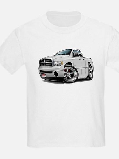 Dodge Ram White Dual Cab T-Shirt