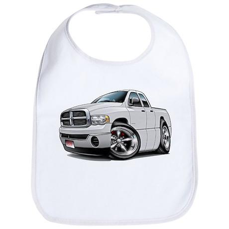 Dodge Ram White Dual Cab Bib
